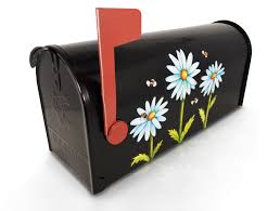 Magnetic Mailbox Cover Magnet Door Spring Daisy Daisies Trio Etsy