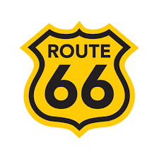 Printed Vinyl Route 66 Us Stickers Factory