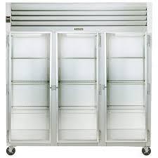 traulsen g32010 3 section glass door
