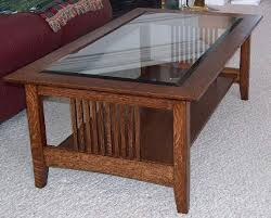 crafstman style coffee end tables