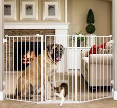 Amazon Com Carlson Extra Tall Flexi Pet Gate Indoor Safety Gates Pet Supplies