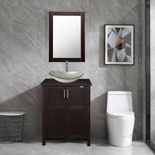double modern bathroom vanity wavy sink
