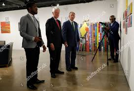 George W Bush Bill Clinton Byron Sanders Editorial Stock Photo - Stock  Image | Shutterstock