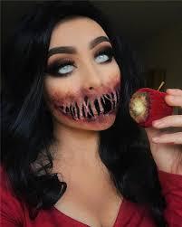 50 scary halloween makeup looks you