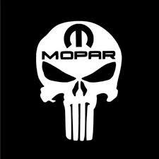 Buy Punisher Skull Mopar Racing Decal Vinyl Sticker Cars Trucks Vans Walls Laptop White 5 5 X 4 In Cci592 In Cheap Price On Alibaba Com