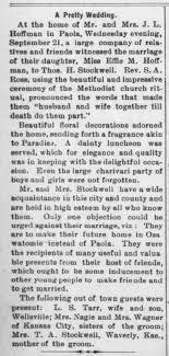 Effie Hoffman Wedding - Newspapers.com