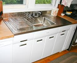 kitchen sink with drainboard for