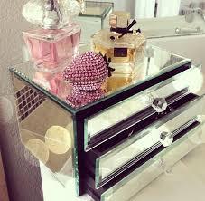 mirror makeup storage pretty makeup