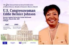 U.S. Congresswoman Eddie Bernice Johnson