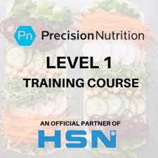 precision nutrition level 1 course hsn