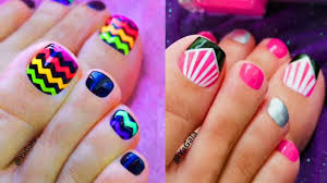 top 48 toe nail art designs pilation