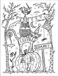 Coloring Book Halloween Spass Farbung Werden Die Von Chubbymermaid