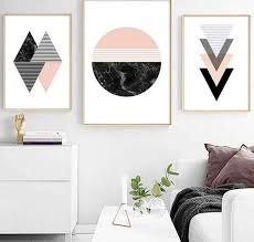 Geometric Minimalist Wall Art King Kong Apa Your Trend Buddy