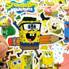 Zombie Undead Spongebob Car Skateboard Laptop Scooter Vinyl Decal Sticker Stickers Decals