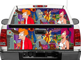 Product Futurama Rear Window Or Tailgate Decal Sticker Pick Up Truck Suv Car