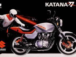 moto del día suzuki gs 650 g katana