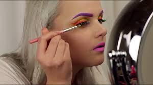 rave makeup tutorial photoshoot