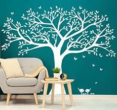 Amazon Com Giant Family Photo Tree Wall Decal Wall Sticker Vinyl Mural Art For Home Decor Room Decor White Baby