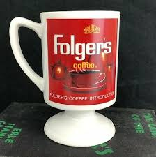 Vintage Folgers Coffee Mug 126 Years of Excellence Collectible ...