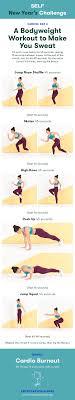 a bodyweight workout to make you sweat