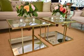 gold mirrored coffee table bathrooms