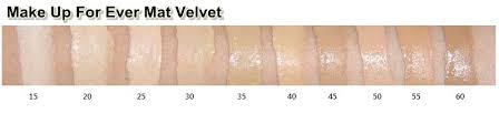 makeup forever mat velvet shade 55