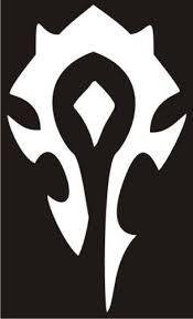 Vinyl Horde Insignia Decal World Of Warcraft Vinyl Decals Warcraft