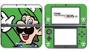 Amazon Com New Super Mario Bros Luigi Special Edition Video Game Vinyl Decal Skin Sticker Cover For The New Nintendo 3ds Nintendo Nintendo 3ds Nintendo 3ds Xl