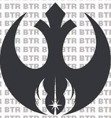 Star Wars Rebel Alliance Jedi Order Emblem Decal 8038