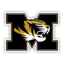 University Of Missouri Tigers E Vinyl Die Cut Decal Sticker 4 Sizes