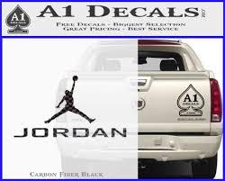 Michael Jordan Jumpman Full Decal Sticker 23 A1 Decals