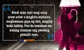 super kilig quotes will surely catch your heart boy banat