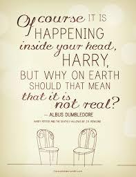 dumbledore harry potter mind quotes wisdom image on