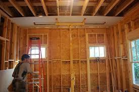 plywood or drywall