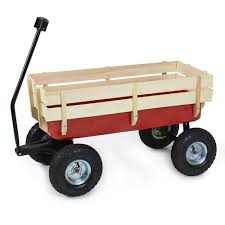 best choice products wood wagon all