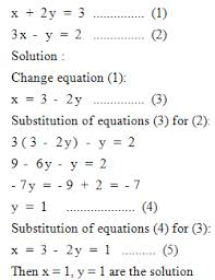 two variable equations
