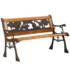 patio garden bench park porch chair