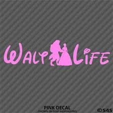 Home Furniture Diy Wall Decals Stickers Walt Life Beauty And The Beast Disney Car Decal Sticker Choose Color Mtmstudioclub Com