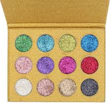 diamond glitter rainbow eye shadows