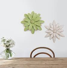 nordic 3d flower wall decoration set