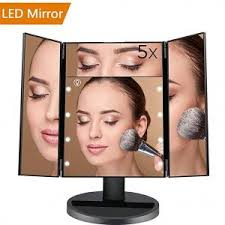 vanity makeup mirror with 8 led lights