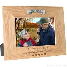 50th wedding anniversary personalised
