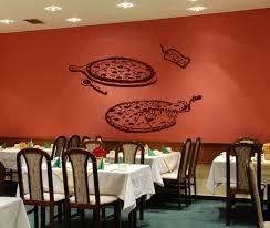 Pizza Decal Pizzeria Vinyl Sticker Window Sign Cooking Art Etsy