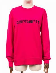 crew sweatshirt ruby pink black