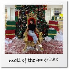 santa at miami ping malls
