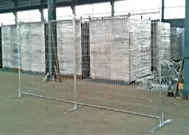 Eco Friendly Temporary Fence Panels Removable Welded Wire Fence Panels