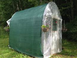 Make A Greenhouse From An Unused Dog Kennel Organic Gardening Mother Earth News