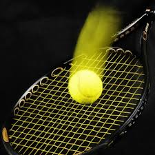 black tennis racket and ball free image