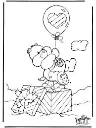 Kleurplaat Troetelbeertjes Troetelbeertjes