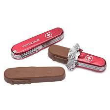 victorinox swiss army knife chocolates